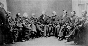 The Chase Court. 1864 Supreme Court of the United States.