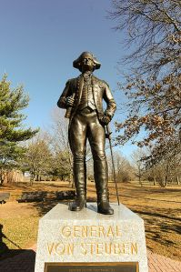 General Von Steuben Memorial at Monmouth Battlefield State Park
