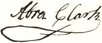 Abraham_Clark_signature (2)