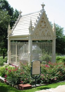 Johnston's tomb in the Texas State Cemetery in Austin, Texas