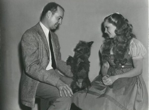 Press photo with Judy and Richard Thorpe who spent 2 weeks as the director of the film.