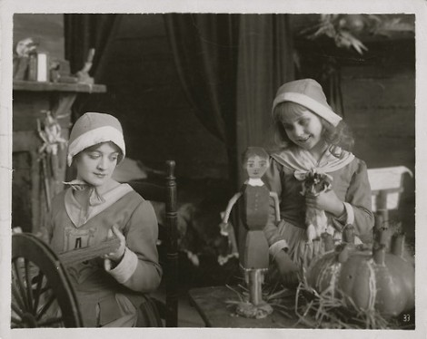 Mary Martin and Kittens Reichert, The Scarlet Letter, 1917
