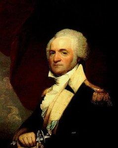 Gilbert Stuart portrait of Winthrop Sargent, circa 1805.