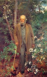 Frederick Law Olmsted, oil painting by John Singer Sargent, 1895