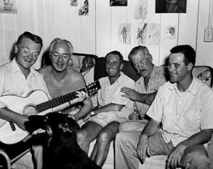 From left, James Cagney, William Powell, Henry Fonda, Ward Bond, Jack Lemmon