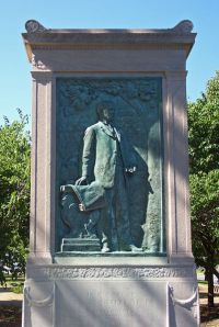 1909, August Meyer Memorial at 10th and Paseo, Kansas City, Missouri