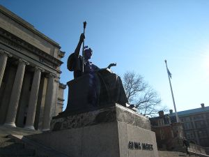 1903, Alma Mater on the campus of Columbia University
