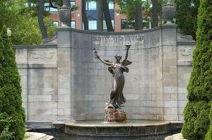1915, The Spirit of Life Memorial to Spencer Trask, Saratoga, New New York