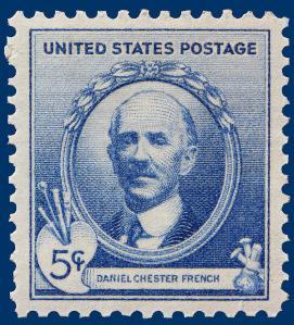 daniel-chester-french-postage-stamp-howard-hershon