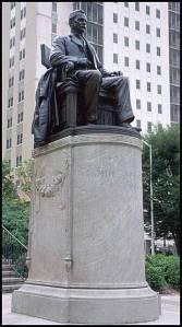 1909, Samuel Spencer on Peachtree Street, Atlanta