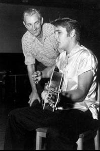 Elvis with Ken Darby