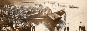 "Christening of the Curtiss ""America"""