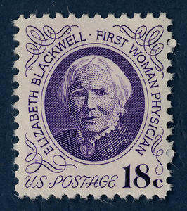 Blackwell was commemorated on a U.S. postage stamp in 1974