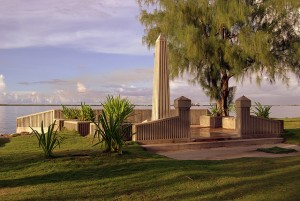 Captain Henry Glass, USN Monument - Gap Gap Beach - Apra Harbor - Guam