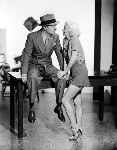 Jean Harlow and William Powell in Reckless