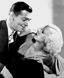 Jean Harlow with Clark Gable in Hold Your Man (1933)