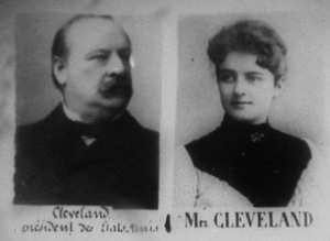 Grover Cleveland The Only U S President To Marry In The White House Wed This First Lady In The Blue Room Today In 1886 Now We Know Em