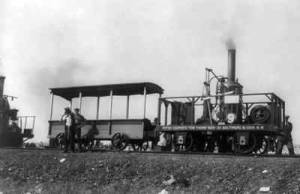 Peter Cooper's steam engine, Tom Thumb