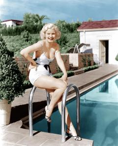 jean-harlow-poses-in-front-of-her-home-everett