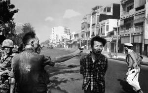 "Adams famous photograph ""Saigon Execution"""