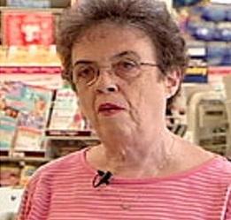 Sharon Buchanan (pictured 30 yrs later)