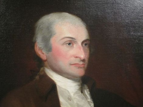 John Jay as he appears at the National Portrait Gallery in Washington, D.C.
