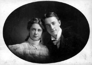 George and his sister Josie in the 1890's