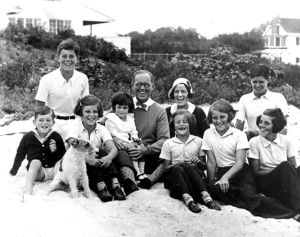 Rose Kennedy and her family at Hyannis Port, September 4, 1931