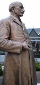 Statue of Dr. Mayo near the Mayo Clinic in Rochester, MN.