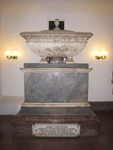 James Smithson's crypt in Washington
