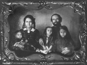 The Mayo family, circa 1862