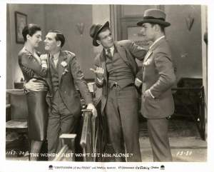 Kay Francis and her first film Gentleman of the Press