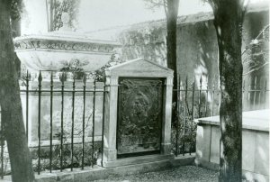 James Smithson's Italian grave site, 1896