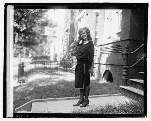 Margaret Gorman in 1921 (Library of Congress)