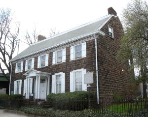 Reverend Goodwin's rectory/home where celluloid film was invented, now a National Registered Historic Place