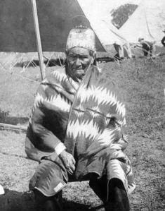 Geronimo as a U.S. prisoner in 1905