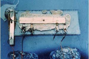 Kilby's original integrated circuit