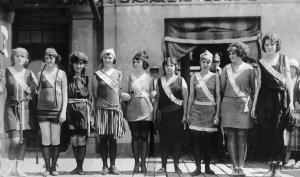 Margaret Gorman, 3rd from left