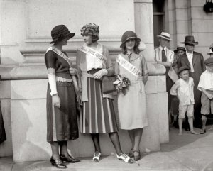 Margaret Gorman is on the far right