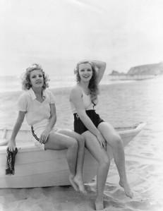Virginia Bruce & Ruth Selwyn c.1935
