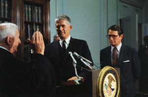 Archibald Cox sworn in as Special Prosecutor May 25, 1973