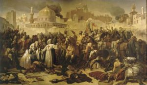 Capture of Jerusalem by the Crusaders