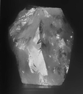 Photo of the original Cullinan rough diamond