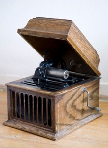 Thomas Edison's cylinder player made its debut in the late 1870s (photo courtesy Russell Bingham).