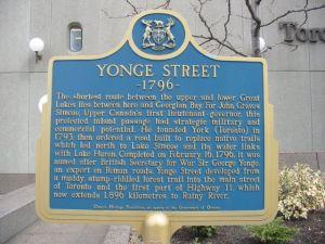 Yonge_Street_plaque