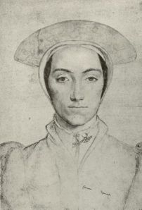 Portrait of Amalia by Hans Holbein the younger, 1539.