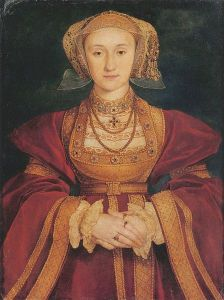 Portrait of Anne of Cleves by Hans Holbein the Younger, 1539.