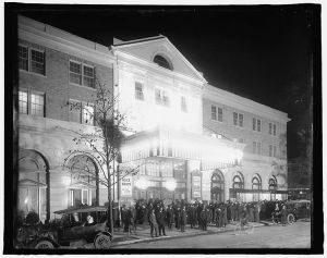 The Knickerbocker Theatre in October, 1917