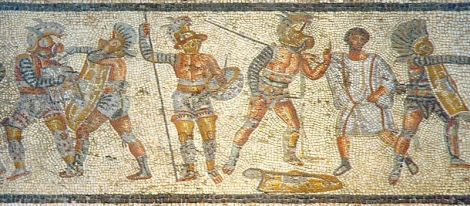800px-Gladiators_from_the_Zliten_mosaic_3