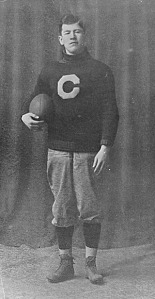 Jim Thorpe in Carlisle Indian Industrial School uniform, 1909.